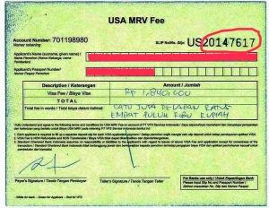003. Tanda Bukti Pembayaran Visa
