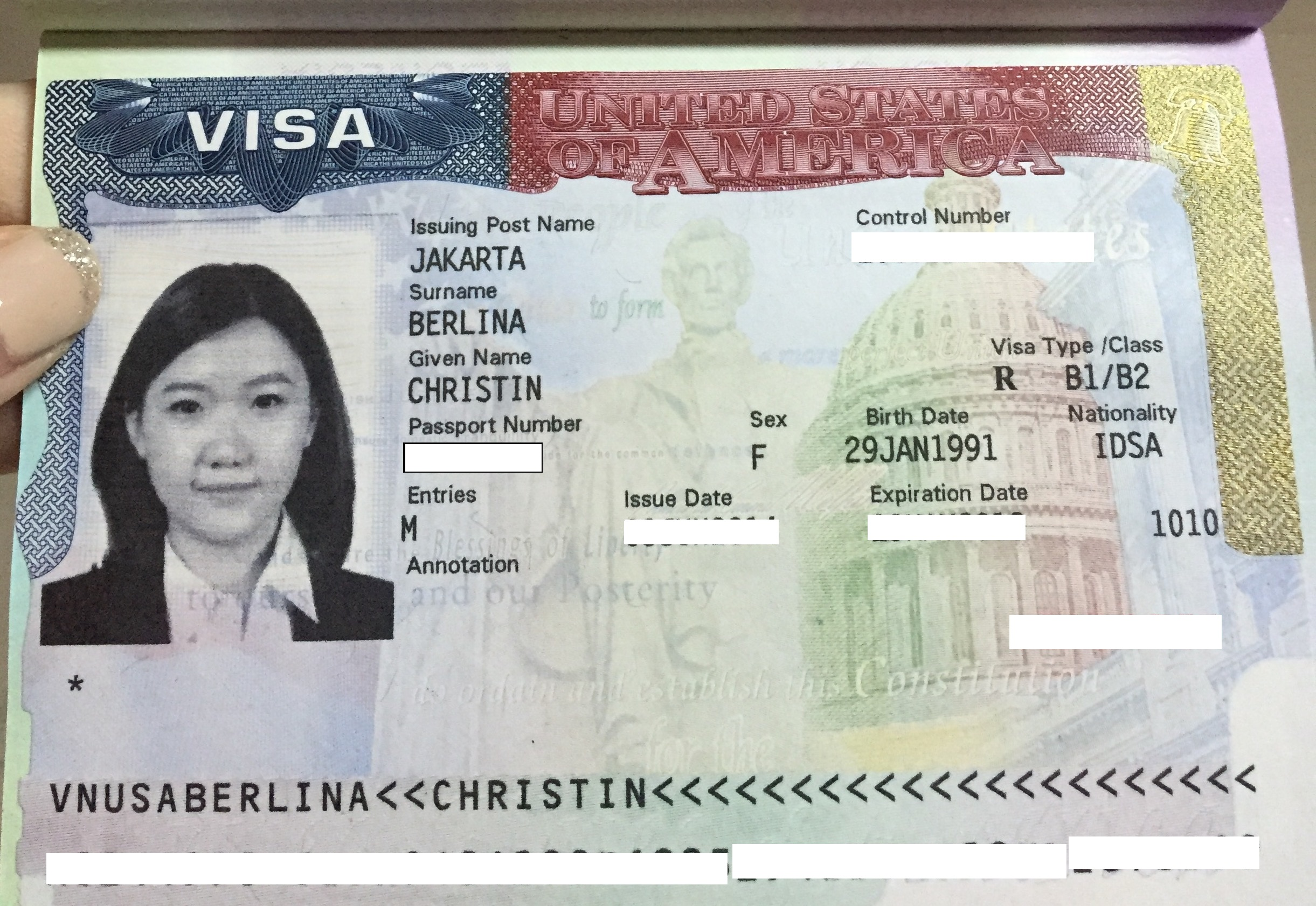 Visa Amerika Berlina