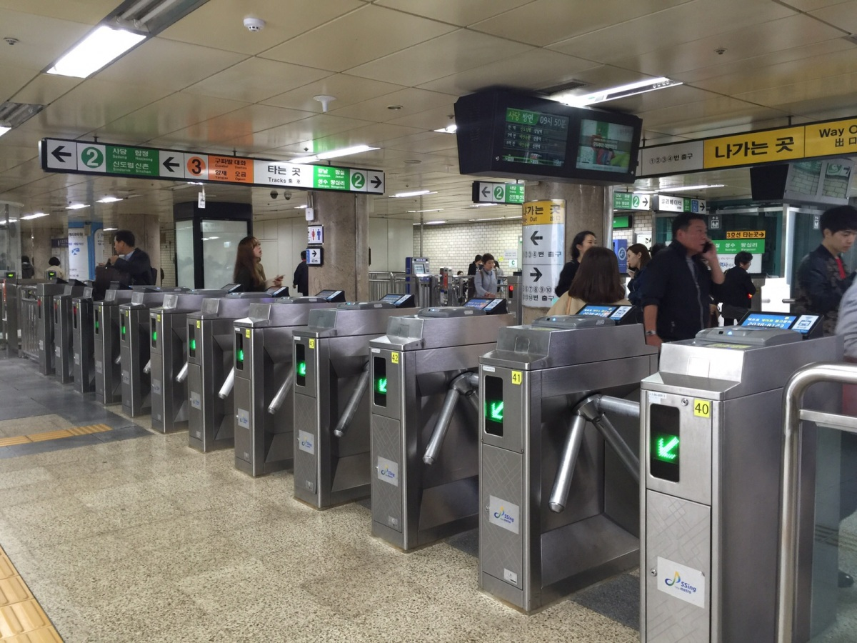 Subway Experience In Seoul With T Money And M Pass Berlina